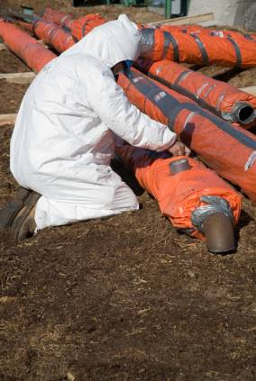 Asbestos Transite Pipe Removal